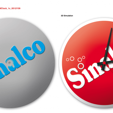 Sinalco clock, preview