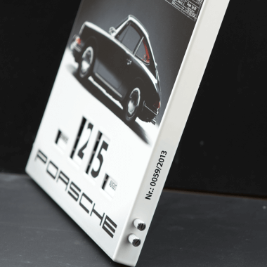 Rotary Porsche 2013 calendar, feature burned sequential numbering