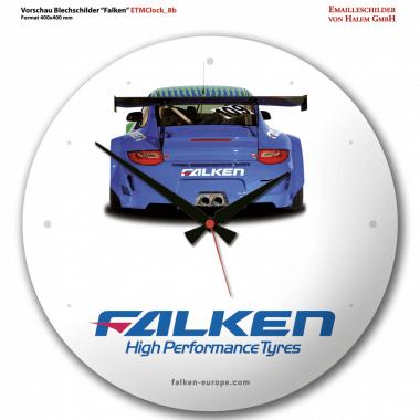 Falken Tyres clock Preview