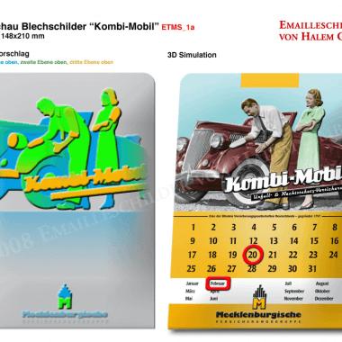 Mecklenburgische Versicherung calendar, preview