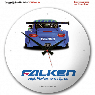 Falken Tyres clock Preview