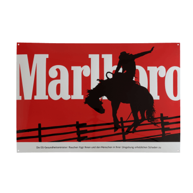 Marlboro porcelain enamel sign