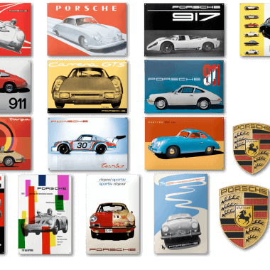 Enamel signs produced for Porsche AG to this day. Just like any of the other signs depicted here, these are not available for sale.